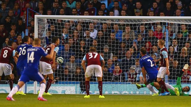 Branislav Ivanovic scores Chelsea's third