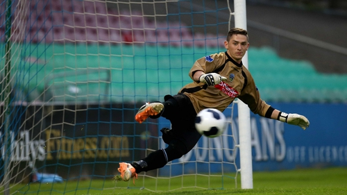 UCD goalkeeper Conor O'Donnell made a string of saves