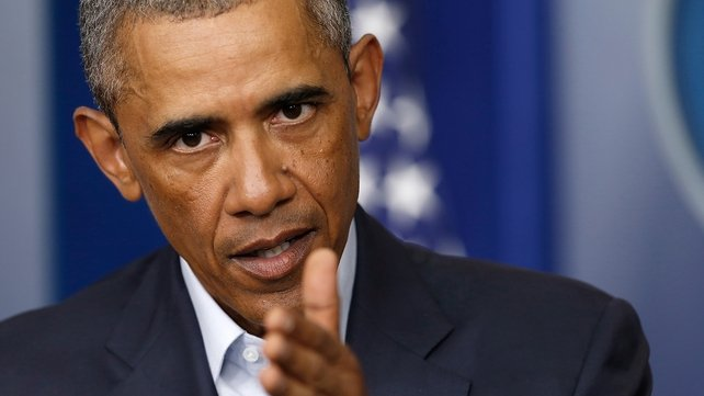 US President Barack Obama has said that the United States has embarked on a long-term mission to defeat the insurgents