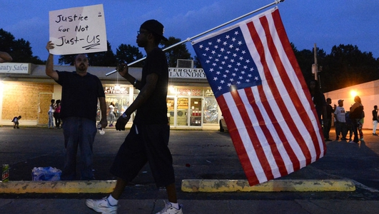 Protests continue in Ferguson, Missouri