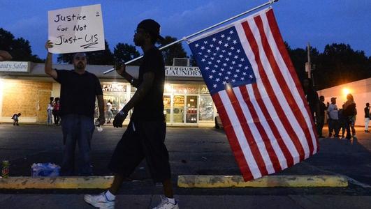 Protests continue in Ferguson, Missouri