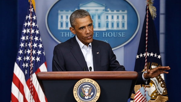 Barack Obama said yesterday that the Islamic State poses a threat to Iraq and the entire region