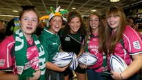 Ireland return from the Women's Rugby World Cup