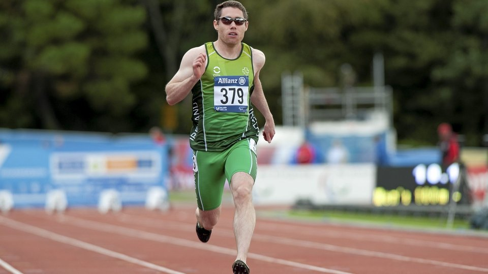 Derry's Jason Smyth completes the sprint double at the IPC European Athletics Championships in Swansea