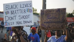 There have been street protests in Ferguson every night since Michael Brown was shot dead