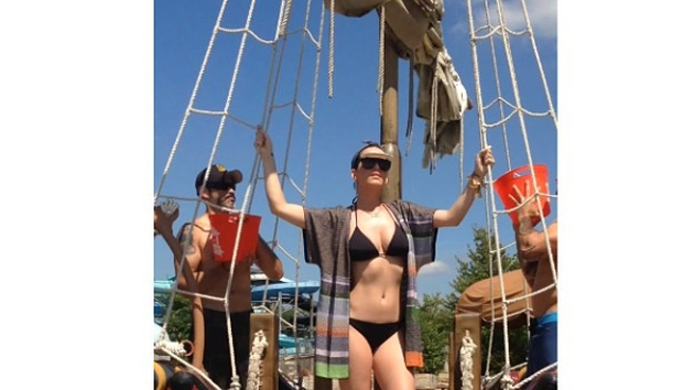 Before Perry was drenched, she nominated Madonna to take the challenge