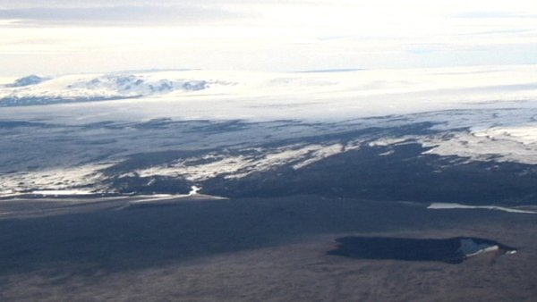 On Sunday, Iceland lowered its warning code for possible volcanic disruption to the aviation industry to orange from red
