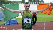 Champion Michael McKillop led from the gun in the T38 800m final