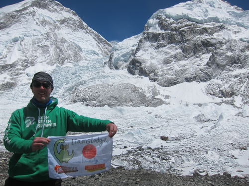 Liam's Lodge is the charity that Paul and his team raise money for through their climbing