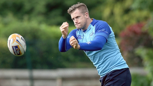 Jamie Heaslip will lead out Leinster for the 2014/15 season