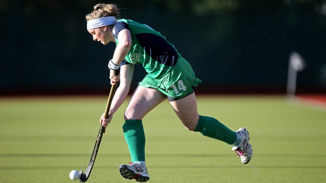 Naomi Carroll bagged two goals for Ireland