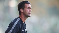 Celtic boss Ronny Deila talks to RTÉ Sport after their 1-1 draw with Maribor