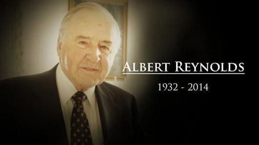 Former Taoiseach Albert Reynolds dies, aged 81