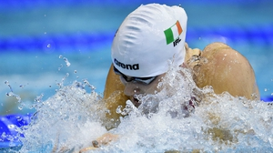 Sycerika McMahon will go in the 50m breaststroke semi-finals at 1520 today
