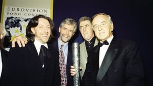 Mr Reynolds with Ireland's 1994 Eurovision winners