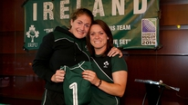 Irish stars Fiona Coghlan and Lynne Cantwell reflect on the Women's Rugby World Cup