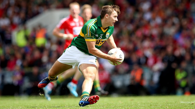 James O'Donoghue kicked 0-10 as Kerry breezed past Cork in the Munster final