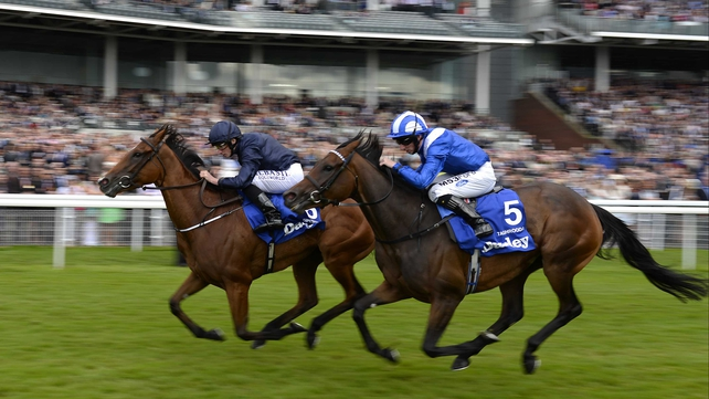Tapestry edges ahead of Taghrooda  as the latter loses her unbeaten record