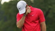 Rory McIlroy shot a three-over-par 74