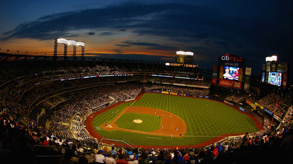 The New York Mets host the Chicago Cubs at Citi Field