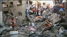 Three Hamas leaders killed in air strikes