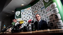 Ireland boss Martin O'Neill has announced his provisional squad for games against Oman and Georgia