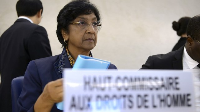 Navi Pillay suggested the Security Council come up with possible new responses to rights violations