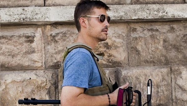 James Foley was murdered by a jihadist believed to be British