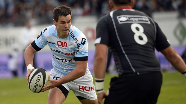 Jonathan Sexton suffered injury during Racing Metro's win over Toulon