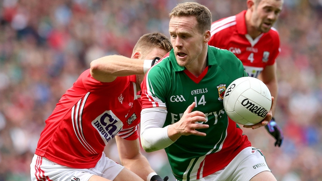 Full-forward Andy Moran will captain Mayo against Kerry