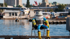Hitchbot - a hitchhiking robot which finished a 6,437km journey from Halifax, Nova Scotia to Vancouver Island in Canada