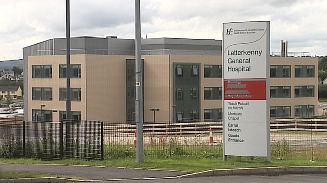 Test were carried out on the man's body at Letterkenny General Hospital