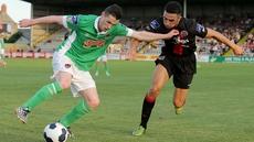 Bohemians beat Cork City 2-0 in July's league meeting at Dalymount Park