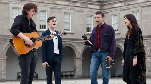 Little Green Cars play Lumia live sessions at the IMMA in Dublin