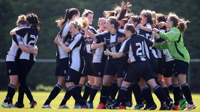 Raheny United won the Bus Eireann National Women's League last season