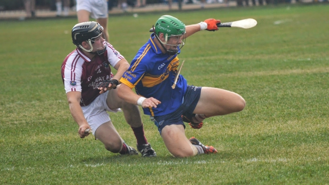 Galway came through a tough Boston SHC semi-final encounter with Tipperary (Pic: Rory O'Donnell)