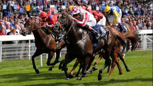 Sole Power displayed devastating acceleration to get up in the Nunthorpe