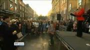 Nine News: Pro-Life campaigners hold vigil outside Dáil