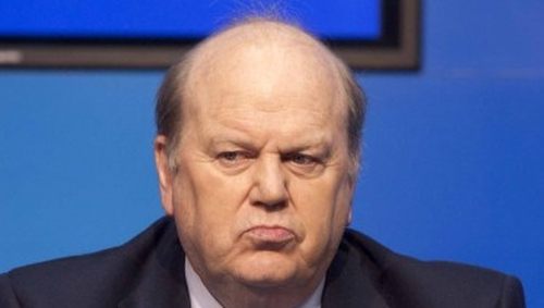 Michael Noonan said if a government was not formed for a 'significant period' anxiety would begin to appear in the markets