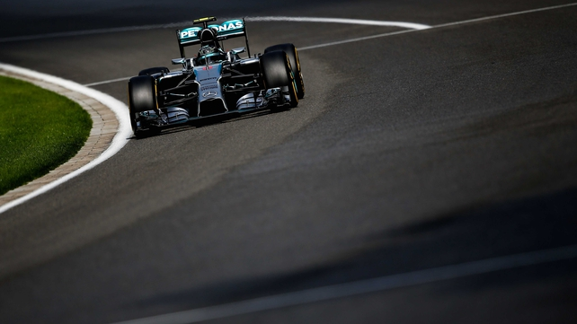 Nico Rosberg has pole in Belgium