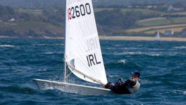 Finn Lynch in action in France