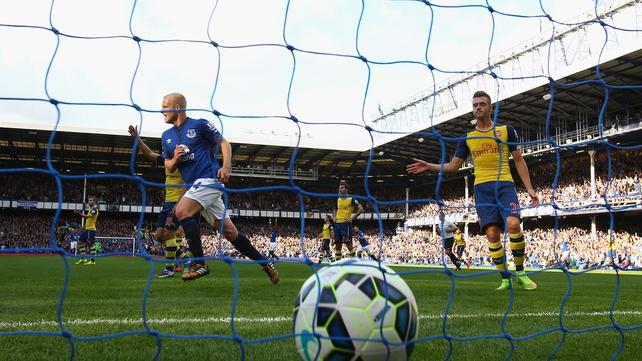 Steven Naismith scored Everton's second