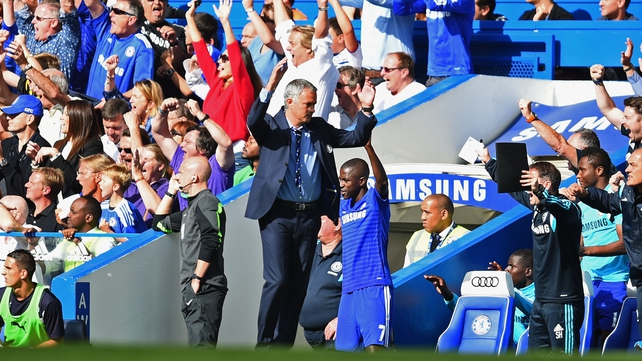 Jose Mourinho: 'At half-time, we had to be a bit emotional with them. I told them the way we were playing was not good enough'