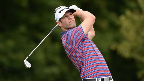 Bradley Dredge of Wales leads going into the final day