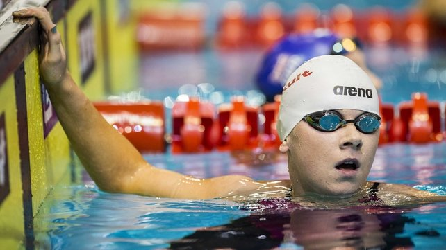 Sycerika McMahon finished 13th in the 400m freestyle heats