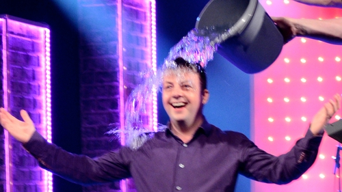 Oliver Callan takes on Ice Bucket Challenge