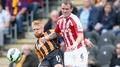 Ten-man Hull hauled back by Stoke