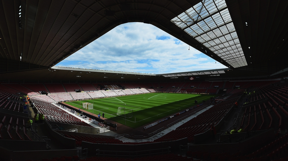 A general view of Sunderland's Stadium of Light