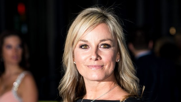 Tamzin Outhwaite staying positive on life after divorce