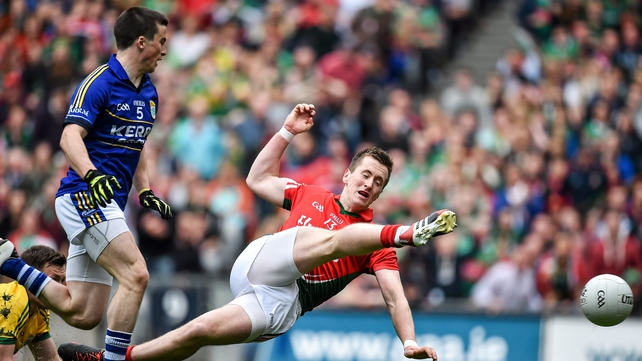 Cillian O'Connor scored Mayo's goal from the penalty spot